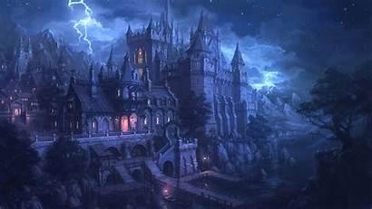 Gothic Fantasy Spooky Artwork Desktop Wallpapers Backgrounds