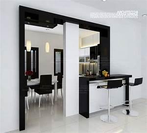 Gambar Desain Dapur Mini Bar - Desain Rumah Mesra