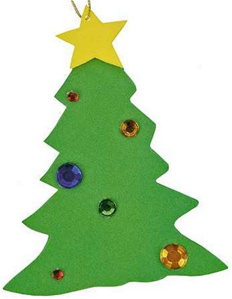 foam christmas tree ornament group kit makes 12