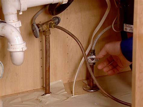 supply lines for kitchen sink free program how to install shut valves 8413
