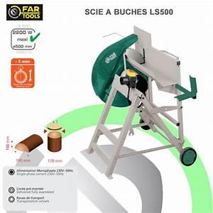 Scie A Buche : scie buche ls500 182010 fartools ~ Edinachiropracticcenter.com Idées de Décoration