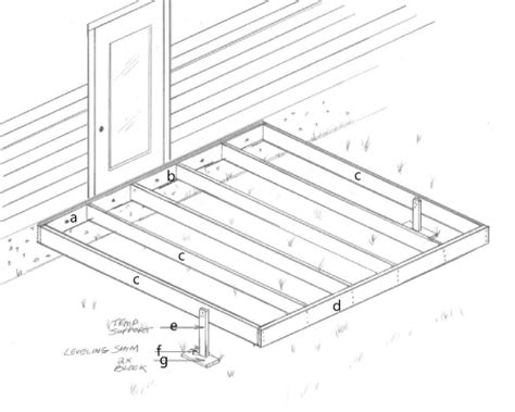10x10 Deck Plans Free by Woodwork How To Build A 10x10 Wood Deck Pdf Plans