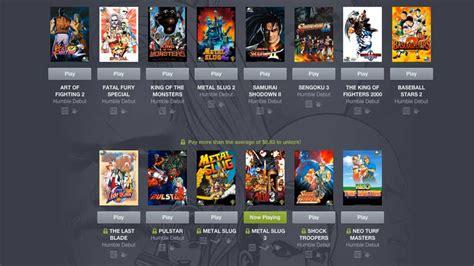 neogeo games  offer  latest enormous humble bundle