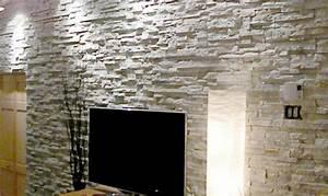 Pierre Pour Mur Intérieur : recouvrement mur interieur pierre tableau isolant thermique ~ Melissatoandfro.com Idées de Décoration