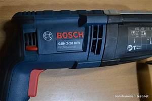 Schlagbohrer Bosch Test : bosch gbh 2 28 dfv bohrhammer im test neu professional ~ Jslefanu.com Haus und Dekorationen