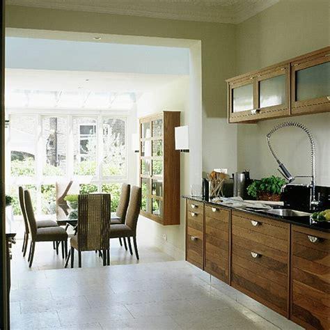 walnut kitchen  dining room extension kitchen