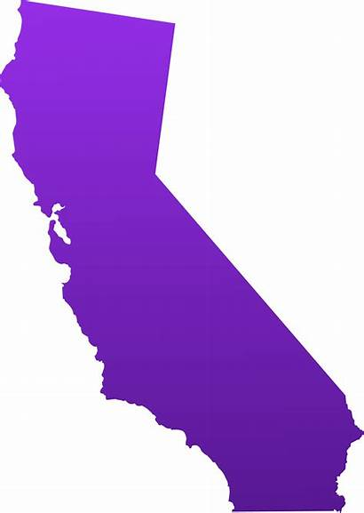 California State Map Clip Clipart Outline Vector