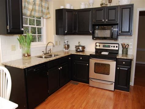 black painted kitchen cabinet ideas bloombety black paint color for kitchen cabinets paint