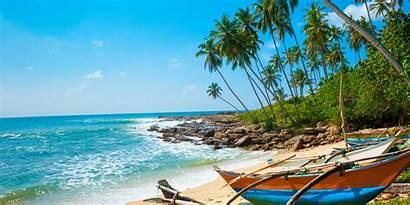 Lanka Sri Vakantie Het Eiland