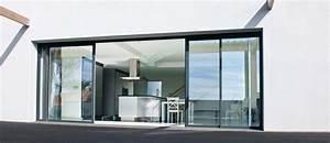 remplacement porte de garage par baie coulissante avec With porte de garage avec baie coulissante À galandage