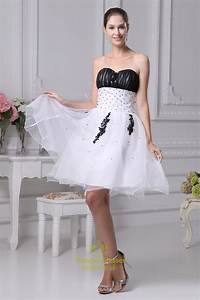 short black and white lace wedding dress sang maestro With black and white short dresses for weddings