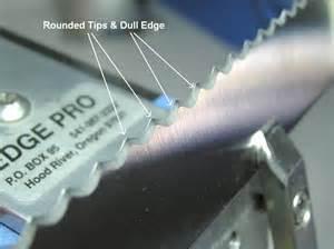 sharpening serrated edges