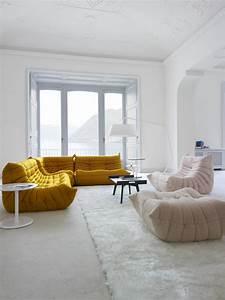 Canapé Style Togo : togo fauteuils designer michel ducaroy ligne roset ~ Voncanada.com Idées de Décoration