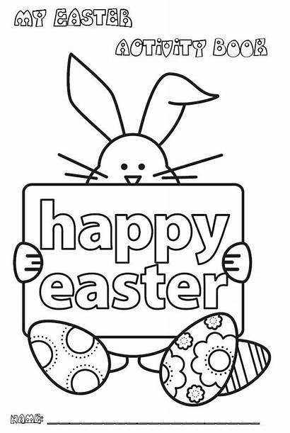 Easter Activity Activities Coloring Colouring Pages Books