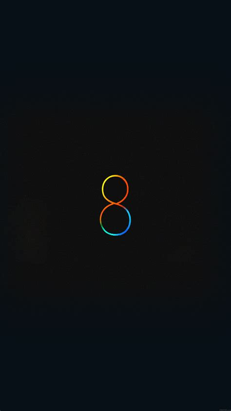 Black Iphone 8 Plus Wallpaper Hd by Wallpaper Free Ios 8 Black Apple Android Wallpaper