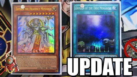 [update] *yugioh* Best! Monarch Deck Profile! New March