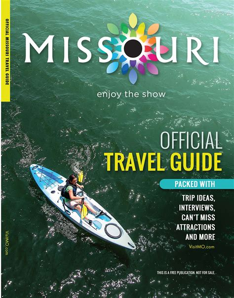 Plan Your Adventure with the 2015 Official Missouri Travel ...