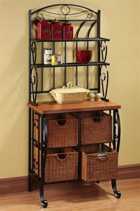 kitchen bakers cabinet 17 best images about ideas for decorating bakers rack on 2274