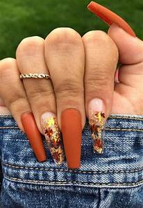 fall nails inspiration for this autumn featuring gel