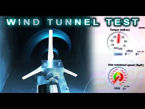 printed wind turbine test   wind tunnel youtube