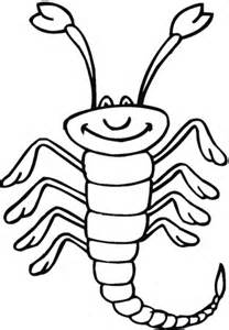 ausmalbild skorpion  ausmalbilder kostenlos zum