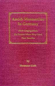 Amish Mennonites In Germany Their Congregations The