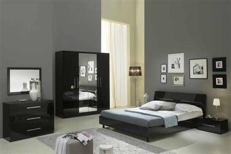photo chambre a coucher mina laque noir ensemble chambre coucher inspirations et