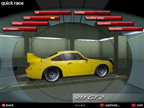 porsche nfs need for speed porsche unleashed porsche 39 97 911 gt2 race