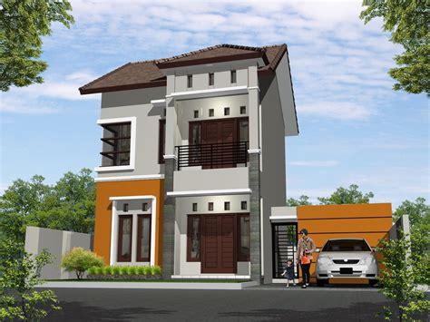 desain rumah minimalis  lantai