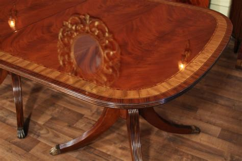 mahogany dining table american finished mahogany dining table seats 14 4900