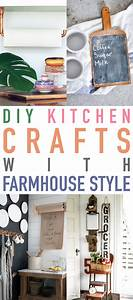 25, Diy, Kitchen, Crafts, With, Farmhouse, Style