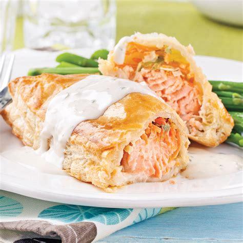 recette de cuisine saumon saumon wellington recettes cuisine et nutrition