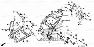 Honda Scooter 2009 Oem Parts Diagram For Frame