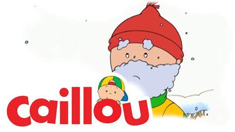 Caillou's Snowman (s01e27)