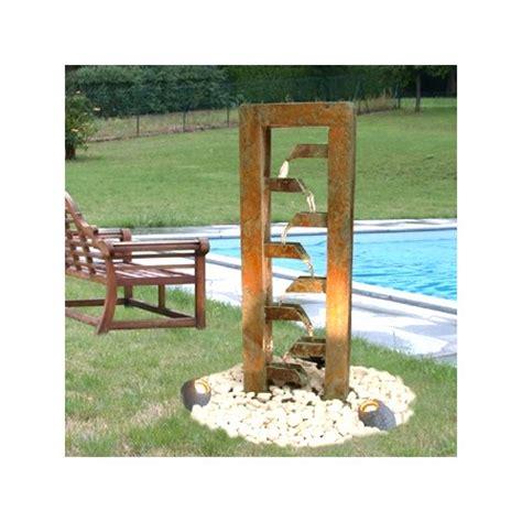 fontaine escalier d ext 233 rieur en schiste vert d asie plantes et jardins