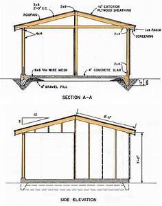 Shed Blueprints 12 U00d716  U2013 How To Build A Shed