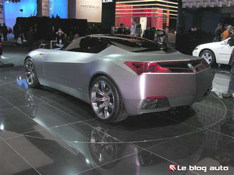 Acura Advanced Sports Car Concept En Photos Le Blog Auto