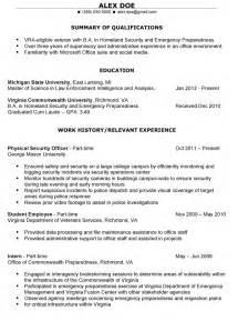 free resume builder for veterans exle resume free resume templates for veterans