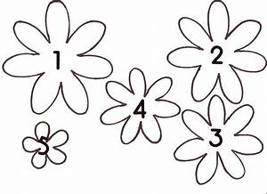 paper flower template new calendar template site With free flower templates to print