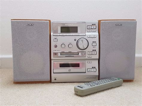 Cassette Cd Player by Sony Radio Cd Player Mini Disc Recorder Player With