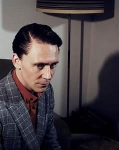 Tom Hiddleston with black hair | Ben and Tom | Pinterest