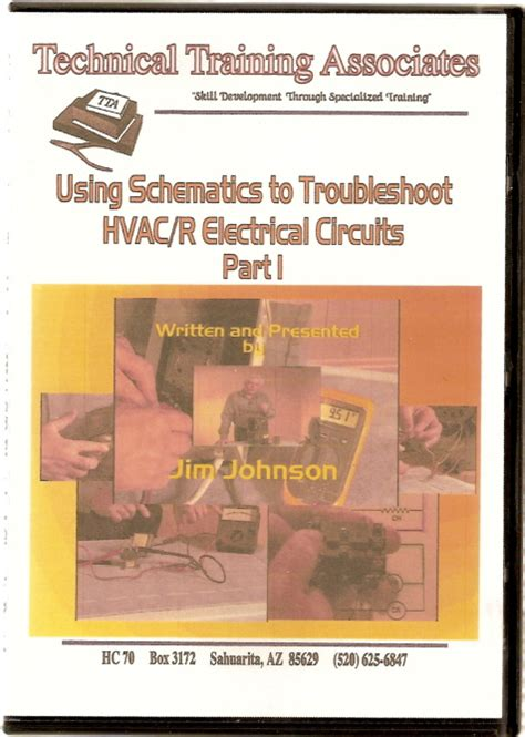 dvd video  schematics  troubleshoot hvacr electrical circuits part