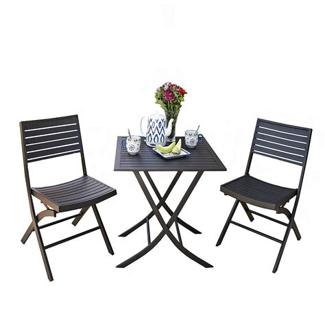 Small Outdoor Table And Chair Set by Awesome Cafe Table And Chairs Set Indoor Bistro Patio