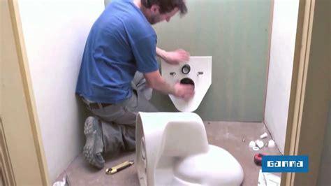 installer un wc suspendu vid 233 o bricolage gamma belgique
