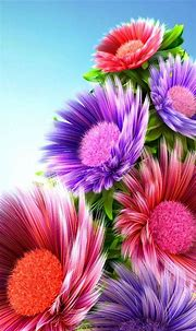 Free download 3d Flower Wallpaper 42 Group Wallpapers ...