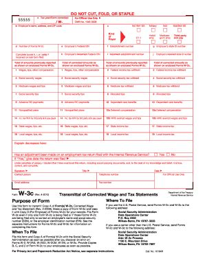 2010 form irs w 3c fill printable fillable blank