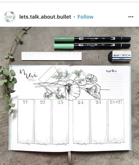 bullet journal stifte 34 weekly spreads to add to your bullet journal natalie