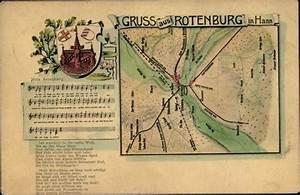 Rotenburg An Der Wümme : landkarten wappen ak rotenburg an der w mme lied mein rotenburg nr 2318696 oldthing ~ Orissabook.com Haus und Dekorationen