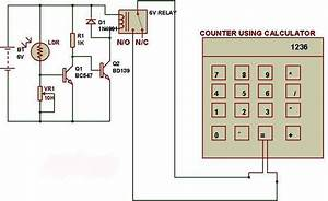 Object Counter Using Ldr And Calculator