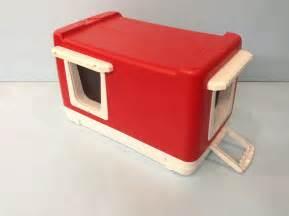 outdoor cat bed heated cat pod 2 doors outdoor cat house shelter